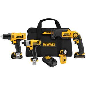Dewalt (DCK413S2) 12V Li-Ion 4-tool kit (BRAND NEW) $189.99
