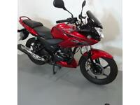 HONDA CBF125. ONLY 2920 MILES. STAFFORD MOTORCYCLES LIMITED