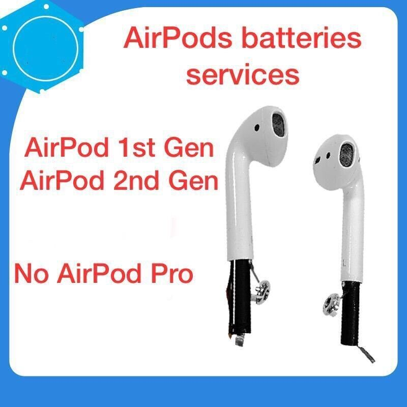 2x  OEM Spec Airpods 1st 2nd Generation Replacement Battery