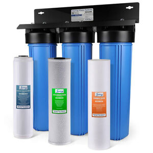 iSpring WGB32B-PB 3-Stage Whole House Water Filtration System