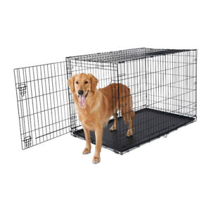"""New in Box PETCO XXL 48.5"""" WIRE DOG PET CRATE"""