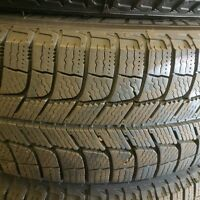 Mint Condition Winter Tires on Rims - Michelin X-Ice Xi3
