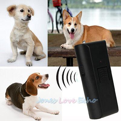 Anti-Bark Ultrasonic Aggressive Dog Pet Repeller Barking Stopper Deterrent Train