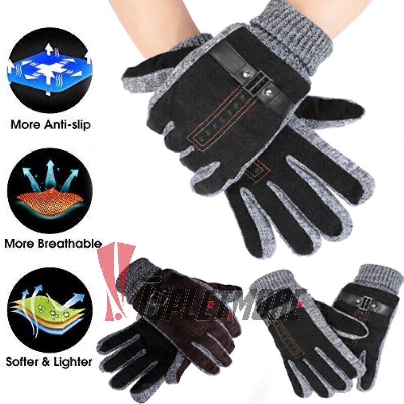 Waterproof Winter Ski Snow Snowboard Thermal Warm Thick Gloves For Men Women