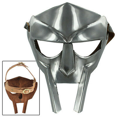 MF Doom Gladiator Mask Madvillain 18g Mild Steel Face Armor Replica Medieval