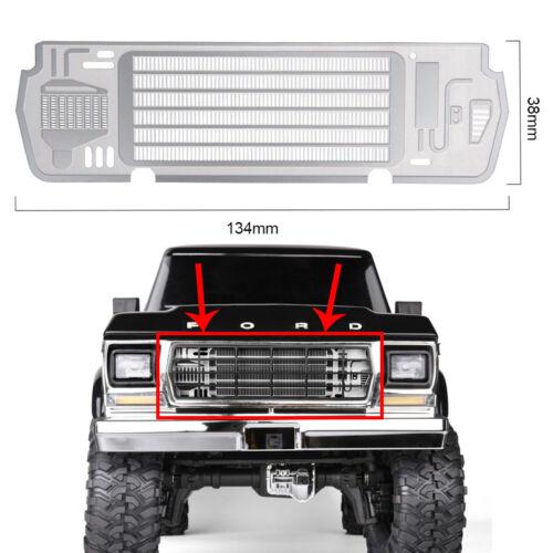 Metal Steel Radiator Grill Plate für Traxxas TRX-4 BRONCO 1/10 RC Car Accessory