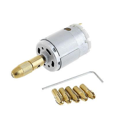 12v Mini Mirco Electric Pcb Motor Drill Press Drilling Bits Tool Twist Drill