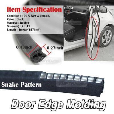 WRC 4x car door guard edge trim door bumper protector sticker car accessories