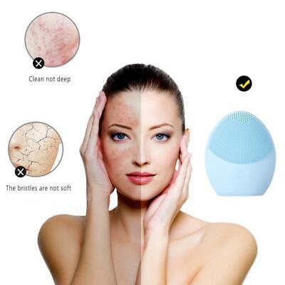 Mini masajeador eléctrico limpieza facial vibracion Envío 24hr