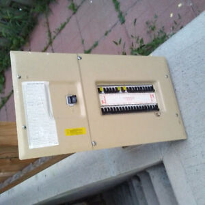 Electric Panel + Full Breakers, 40 Spaces, 200Amp, $175