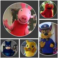 Mascots for birthdays, parties, events, & more!!