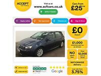 Volkswagen Golf 1.6TDI ( 105ps ) Tech 2012MY BLUEMOTION FROM £25 PER WEEK!