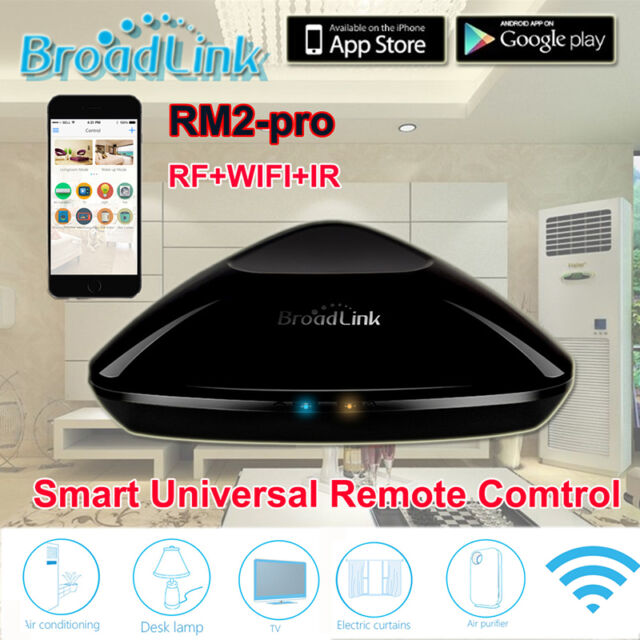 Broadlink RM2 PRO Home Intelligent WiFi Controller For IOS / Android Smartphone