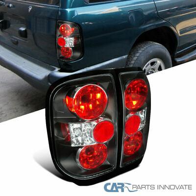 For 96-04 Nissan Pathfinder 97-04 Infiniti QX4 Black Tail Lights Brake Lamps 97 Nissan Pathfinder Tail Light