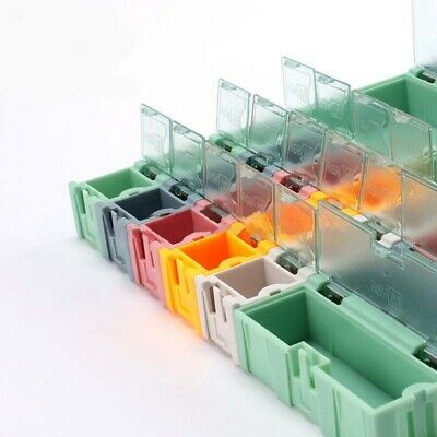 Small Colored Storage Boxes Object Electronic Component Smd Kit Plastic Assembly