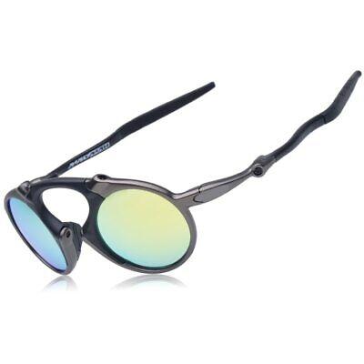 Polarized Iridium Round Sunglasses Madman 40 % discount Alloy Glasses (Discount Polarized Sunglasses For Men)