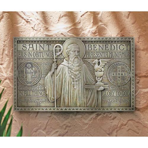 Saint Benedict Medal Indoor Outdoor Garden Plaque