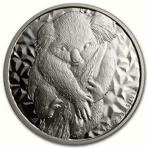 KOALA 2007 Australien 1A$ 1 Unze Silber ST / BU  Der Erste!  - selten! -