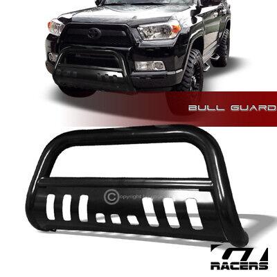 FOR 2010-2017 TOYOTA 4RUNNER BLACK HD BULL BAR BRUSH BUMPER GRILL GRILLE GUARD
