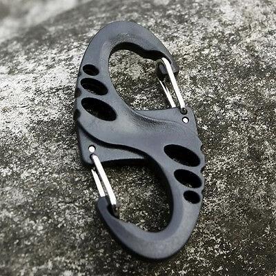 Stainless Steel Outdoor Mini//Folding Pocket EDC Keychain Tool Survival K8Y0
