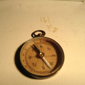 Vintage Military Pocket Compass