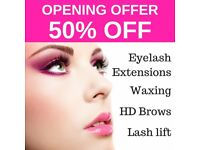 50% off first visit | Eyelash extensions, waxing & more | Salon in Windsor Town Centre