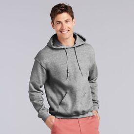 23 Gilden Heavy Blend Hooded Sweatshirts Hoodies, various sizes colours wholesale bulk