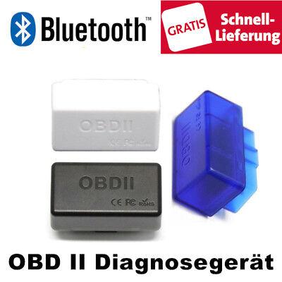 Bluetooth OBD II OBD2 ELM327 Mini Scanner CAN BUS OBDII Interface Diagnosegerät