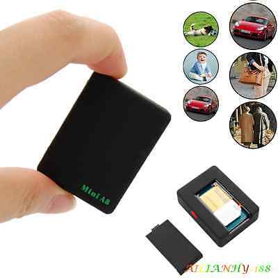 Tiny Small Mini Global Locator Real Time Car Kid Pet GPS Tracker Tracking Device