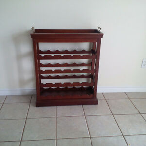 Classic wine rack Cambridge Kitchener Area image 1