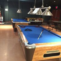 Pool Table 4 x 8 slate coin operated. Must be sold this week