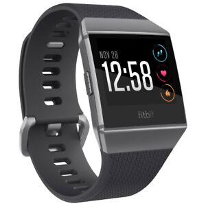 Fitbit Ionic Watch - Charcoal/Graphite Grey