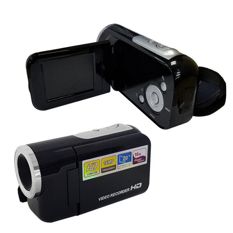 1080P HD Camcorder Digital Video Camera LCD 24MP 16X Zoom DV AV Night Vision