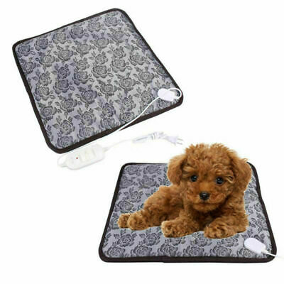 Pet Heated Pad Bed Puppy Dog Cat Warmer Electric Heating Mat Cushion 20W US