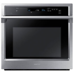Samsung Convection Wall Oven with Steam Bake, 5.1 cu.ft