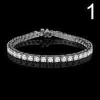 BRACELETS AVEC DIAMANTS EN OR / GOLD DIAMOND TENNIS BRACELETS
