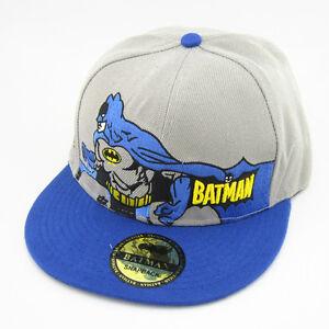 New Dc Comics Baseball Adjustable Batman Superman Snapback Hat Cap HipHop Unisex