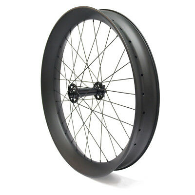 26inch Fat Bike Carbon Wheels Snow Bicycle Wheelset with Powerway M74 Hub