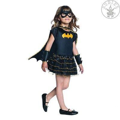 RUB 3887058 Lizenz Kinder Mädchen Kostüm Batgirl Heldin Held Größe S 110 - (Batgirl Kostüm Kinder)