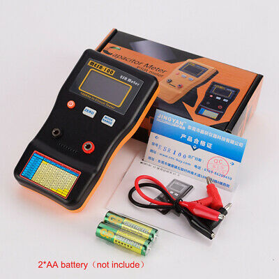 Mesr-100 V2 Esrlow Ohm In Circuit Test Capacitor Meter With 2 X Test Clip Us