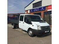 Ford Transit DOUBLE CAB TIPPER ALLOY