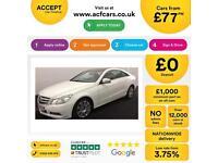 Mercedes-Benz E220 FROM £77 PER WEEK!