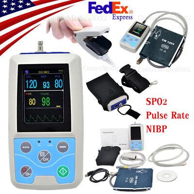 Fda Ce Pm50 Portable Patient Monitor Vital Signs Nibp Spo2 Pulse Rate Monitorus