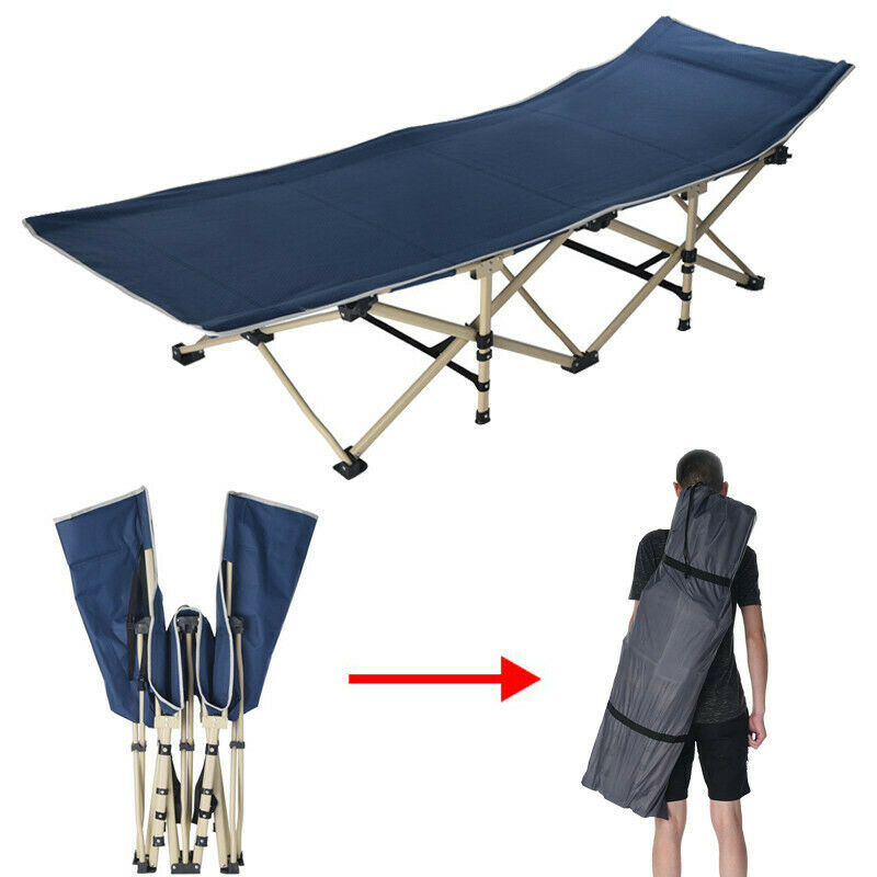 Outdoor Portable Folding Cot Military Hiking Camping Sleepin