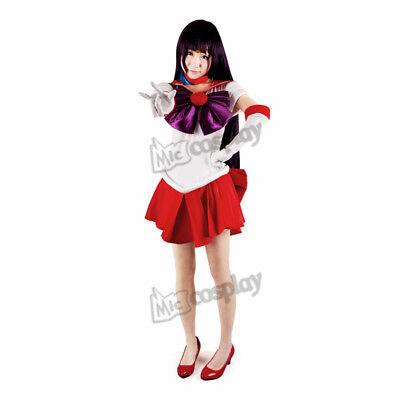 Sailor  Moon Rei School Uniform Cosplay Costume NEW Unisex