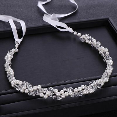 Perlas Cuentas Cristales Tipo Mujer Tocado Fiesta Boda Tiaras Cabello Accesorios
