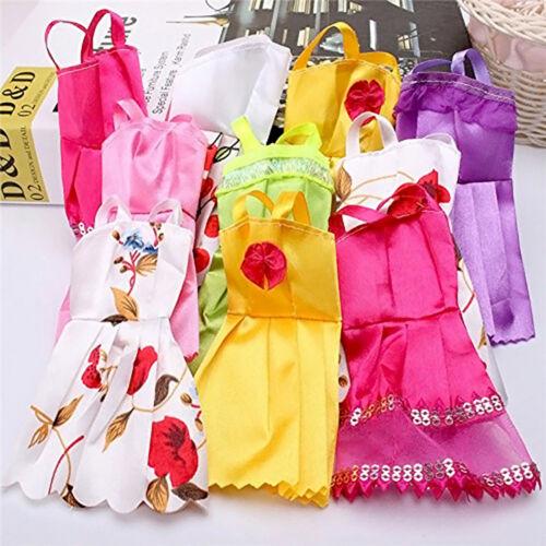"10 Pcs Lot Fashion Handmade Dresses Clothes For 11"" Dolls Random Style c"