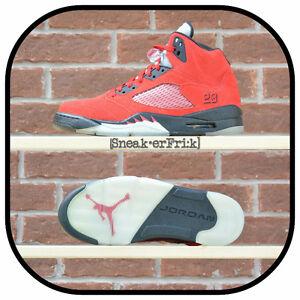 Air Jordan 5 Raging Bull Red Suede sz 9.5