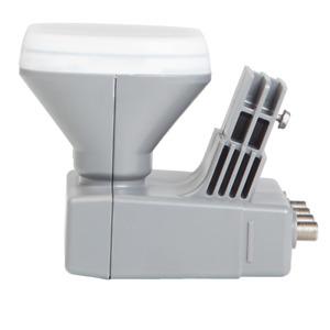 Shaw Direct Triple Satellite Quad Output Switchable xKu LNBF for