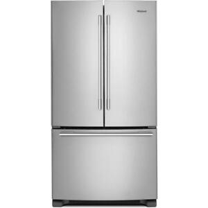 "2018 French Door Fridges|Whirlpool WRFA32SMHZ 33"" Inch French 3-Door Refrigerator (BD-910)"